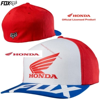 HONDA FOX šiltovka Basic Hat Red
